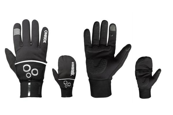 Перчатки с длинными пальцами Onride Hoodie, цвет -  black