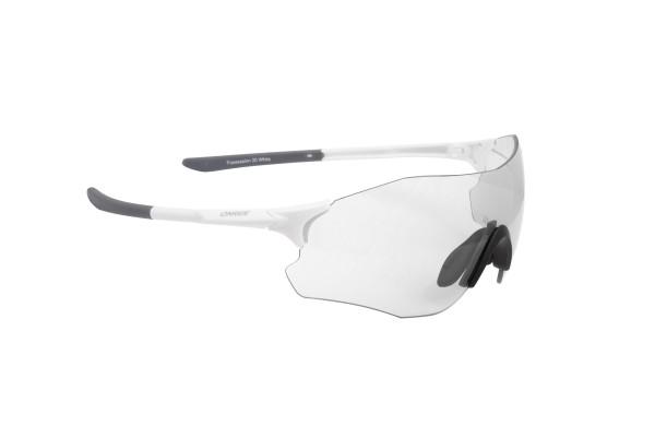 Очки Onride Possession 20 мат белые з линзами прозрачные (100%)