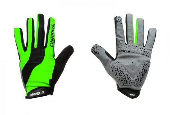 Перчатки ONRIDE Long цвет Зеленый / Черный
