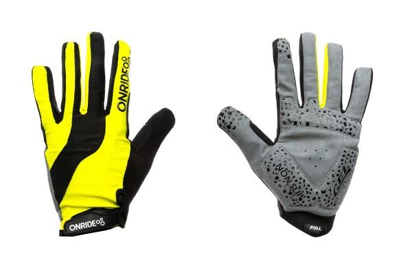 Перчатки ONRIDE Long цвет Желтый / Черный