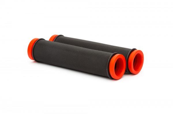 Ручки руля ONRIDE SimpleGrip. Черный / Красный