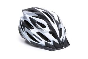Шлем ONRIDE Grip матовый белый / черный / серый L (58-61 см)