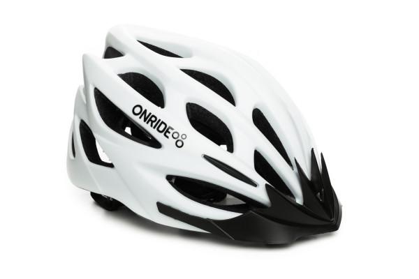 Шлем ONRIDE Mount матовый белый M (55-58 см)