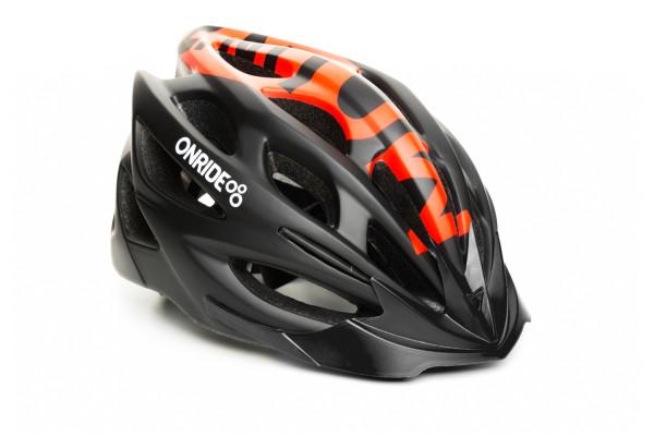 Шлем ONRIDE Mount матовый черный / красный M (55-58 см)