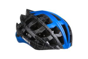 Шлем ONRIDE Cat серый / синий L (57-61 см)