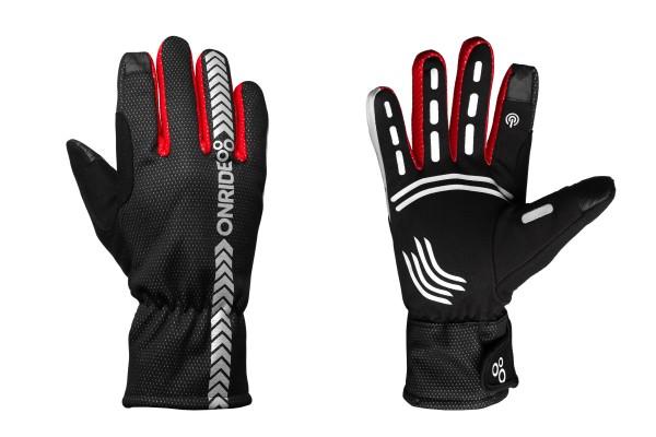 Перчатки ONRIDE Kaplan цвет красный / черный