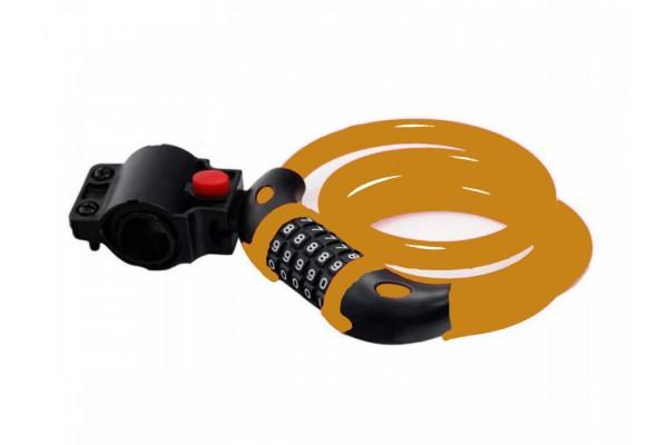 Замок Squire TANGERINE 216 Combination Cable Lock & Bracket