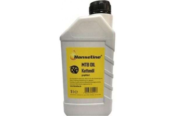 Смазка для цепи Hanseline MTB-Oil, 1л (графитная)
