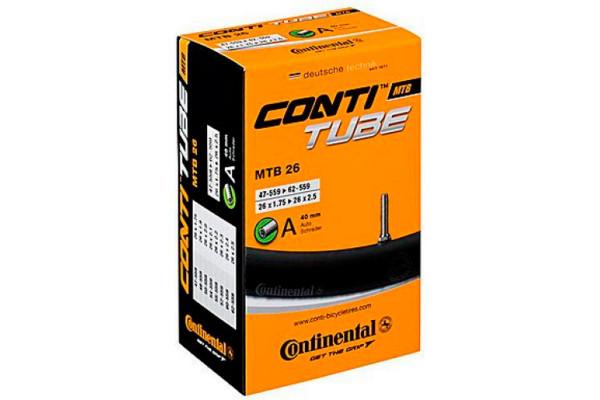 Камера 26x1.75/2.5 Continental MTB, AV40mm,