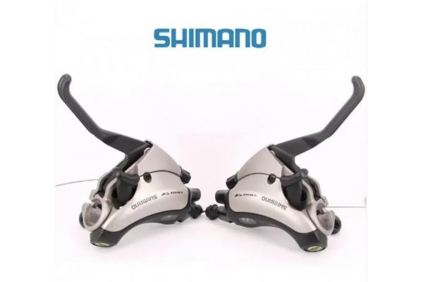 Моноблоки 3/8-ск Shimano ST-EF35 8х3ск. черн.
