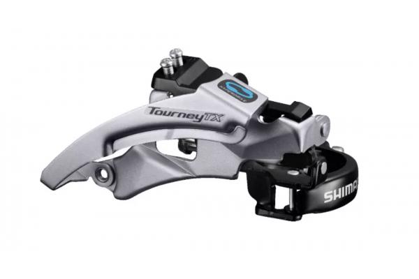 Переключатель передний Shimano FD-TX800, TOURNEY TX Top-swing, універс.тяга, хомут 34.9/31,8мм, для 42/48зуб