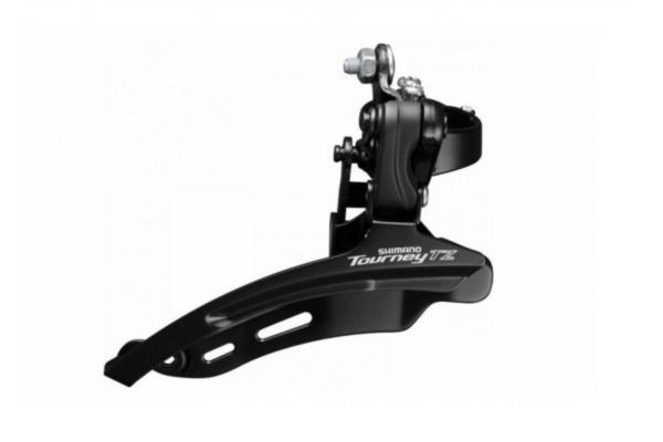 Переключатель передний Shimano FD-TZ500-DS600, в.тяга 28,6мм, 42Т