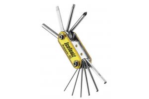 Ключ Ice Toolz 95A3 складной 10 инструментов Amaze-10