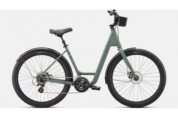 Велосипед ROLL SPORT EQ LOW ENTRY  SGEGRN/MNT/BLK M (96121-6503)