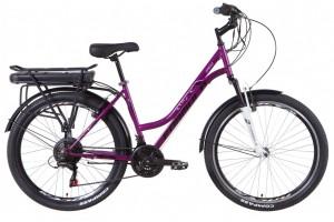 """Электровелосипед 26"""" Formula OMEGA 350Вт 36В редуктор. дисплей, САП, 12.5Ач с крепл. к багажн., 2021"""