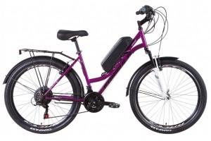 "Электровелосипед 26"" Formula OMEGA 350Вт 36В редуктор. дисплей, САП, 8.8Ач с крепл. на раму, 2021"