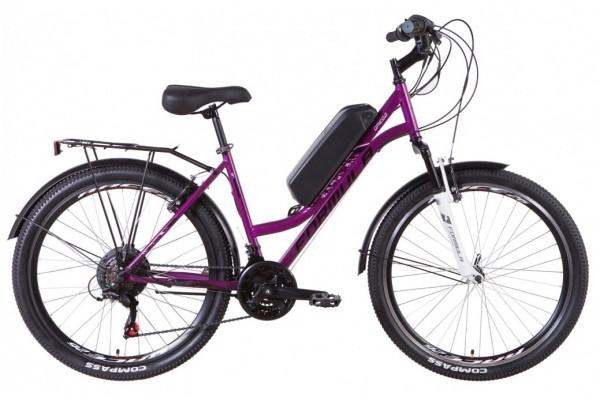 "Электровелосипед 26"" Formula OMEGA 500Вт 48В редуктор. дисплей, САП, 12.5Ач с крепл. на раму, 2021"