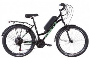 "Электровелосипед 26"" Formula OMEGA 350Вт 36В редуктор. дисплей, САП, 12.5Ач с крепл. на раму, 2021"