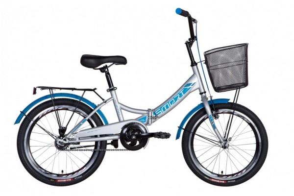 """Велосипед 20"""" Formula SMART с корзиной 2021"""