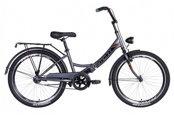 """Велосипед 24"""" Formula SMART с фонарём 2021"""
