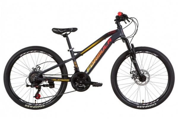 """Велосипед 24"""" Formula BLACKWOOD 2.0 2021"""