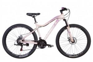 """Велосипед 27.5"""" Formula ALPINA 2021 (черно-фиолетовый с серым)"""