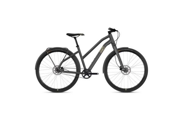 """Велосипед Ghost Square Urban 3.8 28"""" , серо-коричнево-черный, 2019"""