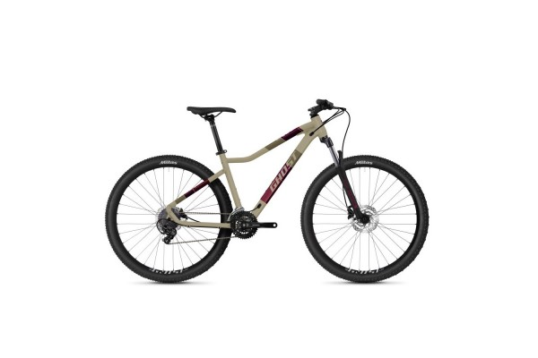 """Велосипед Ghost Lanao Base XS 27,5"""", рама M, песочный, 2021"""