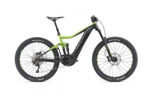 Электро Велосипед Giant Trance E + 3 Pro 25km / h зел. / Черн. M