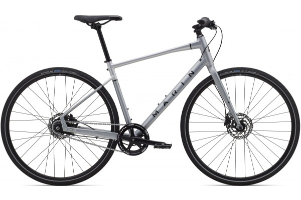 """Велосипед 28"""" Marin PRESIDIO 2 2021 Satin Charcoal/Silver/Gloss Black"""