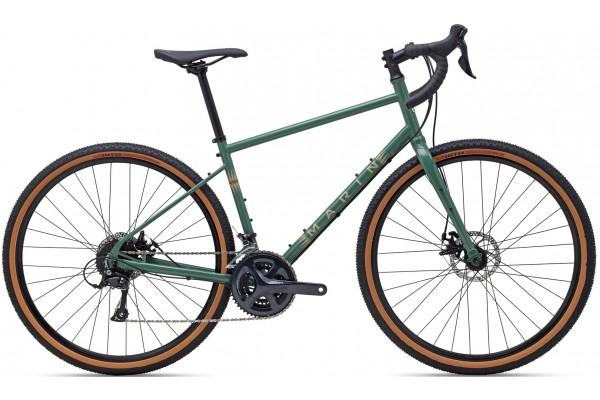 """Велосипед 28"""" Marin FOUR CORNERS 2021 Gloss Green/Tan"""