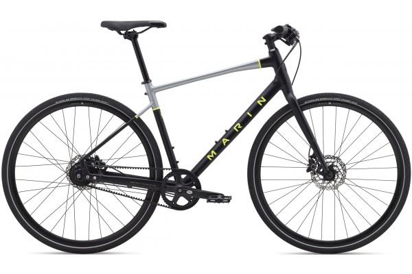 "Велосипед 28"" Marin PRESIDIO 3 2021 Satin Black/Charcoal/Gloss Hi-Vis Yellow"