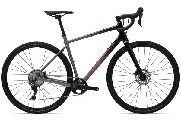 "Велосипед 28"" Marin HEADLANDS 1 2021 Gloss Charcoal/Black/Roarange"