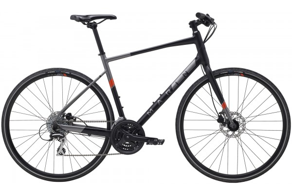 "Велосипед 28"" Marin FAIRFAX 2 2021 Black/Charcoal"
