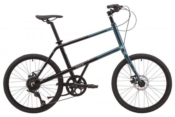 """Велосипед 24"""" Pride MUTE 4.1 2021 чёрный"""
