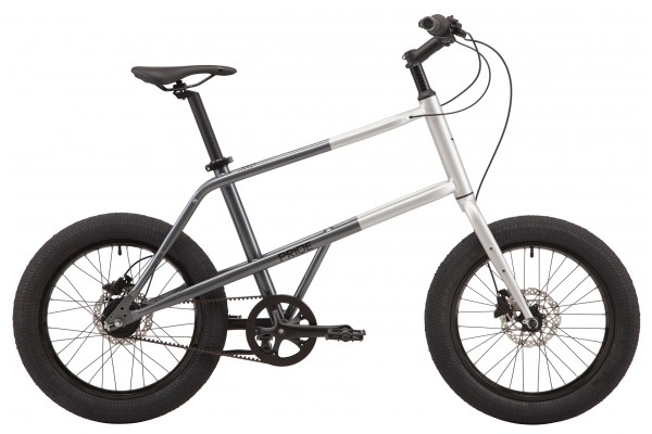 "Велосипед 20"" Pride MUTE 2.2 2021 GRAY-DARK GRAY"