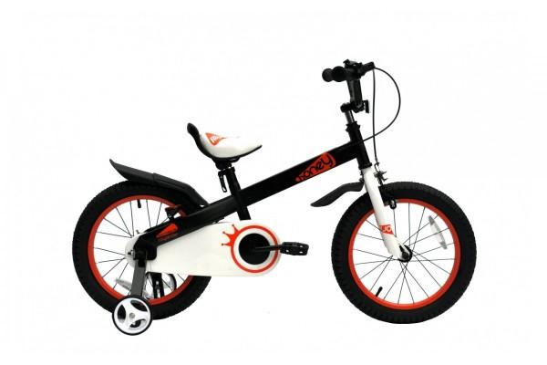 """Велосипед RoyalBaby HONEY 16"""", OFFICIAL UA, черный"""