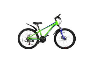"Велосипед 24"" RoyalBaby FEMA MTB 1.0, OFFICIAL UA, лайм"