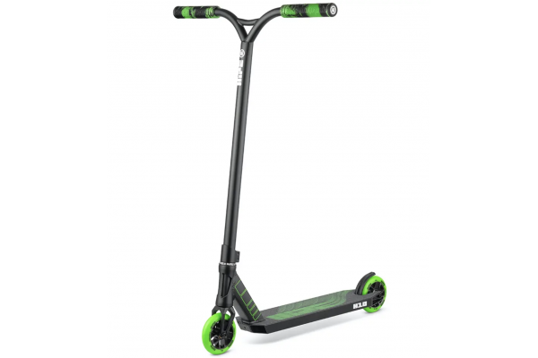 Самокат трюковый Hipe H10 Black/Green