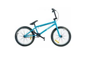 "Велосипед Spirit Thunder 20"", рама Uni, голубой/глянец, 2021"