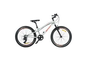 "Велосипед Spirit Flash 4.1 24"", рама Uni, серый, 2021"