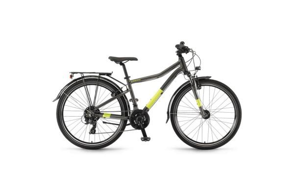 "Велосипед Winora Dash 26"" 21-G Tourney, рама 35 см, антрацит, 2021"